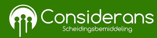 Considerans witte versie logo